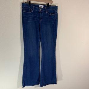 Paige Skyline Boot Blue Jeans 32